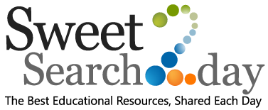 SweetSearch 2Day, Daily Educational Articles, Biographies, and Resources.